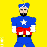 Sikh Captain America in New York