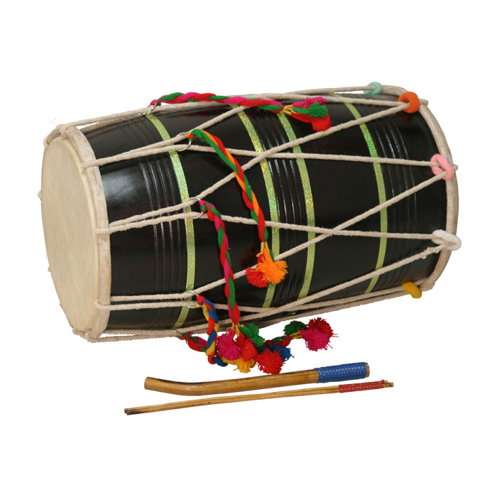 Instruments used in bhangra