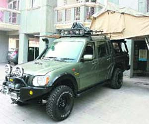 Jaskirat Singh Nagra had recently modified actor Gul Panag's expedition vehicle Super Milo