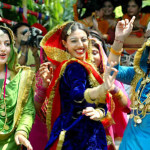 Teej celebrations at Khalsa College for Women