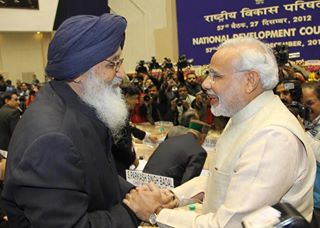 Modi becomes PM says Badal