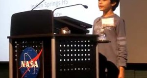 Youngest NASA Speaker – Tanishq Abraham, 9 yr old science prodigy