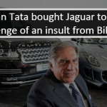 When 'humiliated' Ratan Tata did 'favour' to Ford with JLR buyout!